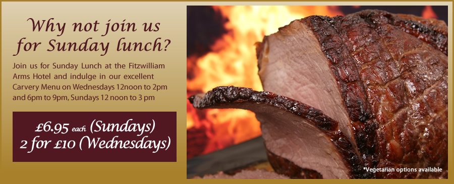 Try our fantastic Carvery Menu