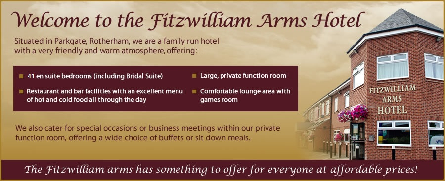 Fitzwilliam Arms Hotel - superb quality, good price accommodation in Rotherham